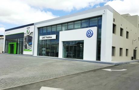 الشركة المتحدة لتجارة السيارات تفتتح مقرها الجديد في مدينة نابلس