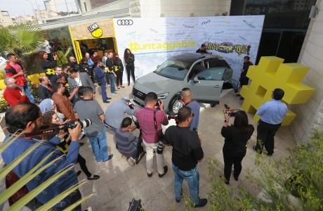 إطلاق مركبة أودي كيو 2 الجديدة كلياً في فلسطين