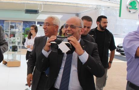 حضور لافت ومميز للشركة المتحدة لتجارة السيارات في معرض MOTOREX1 في رام الله