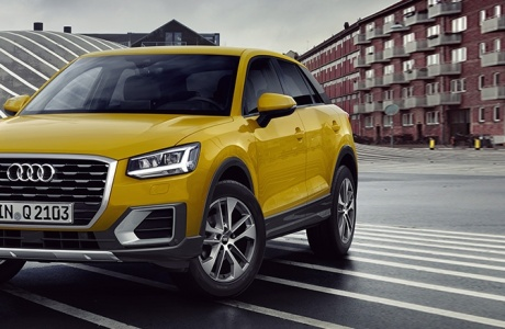 Audi Q2 Soon in Palestine