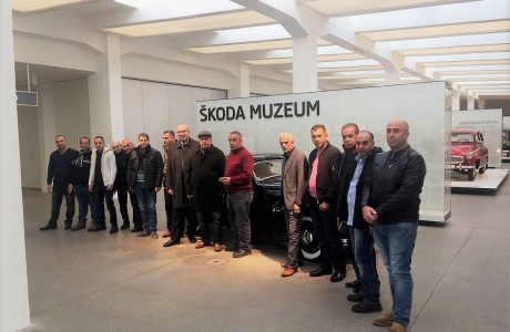 UMT invites their VIP fleet customers into a special tour in SKODA's Headquarter