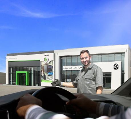 الآن ولأول مرة، فعل كفالة سيارتك  المستوردة المستعملة مجاناً لدى الشركة المتحدة لتجارة السيارات