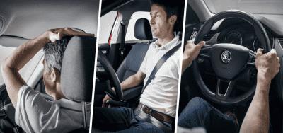 هل تجلس بطريقة صحيحة على كرسي سيارتك ؟